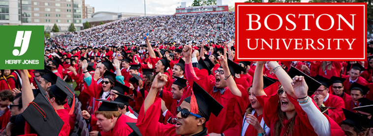 Boston University - College Rings and Graduation Products by Herff Jones