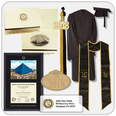 California State University Long Beach Graduation Products By Herff Jones