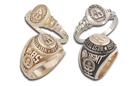 Texas State Rings For Her